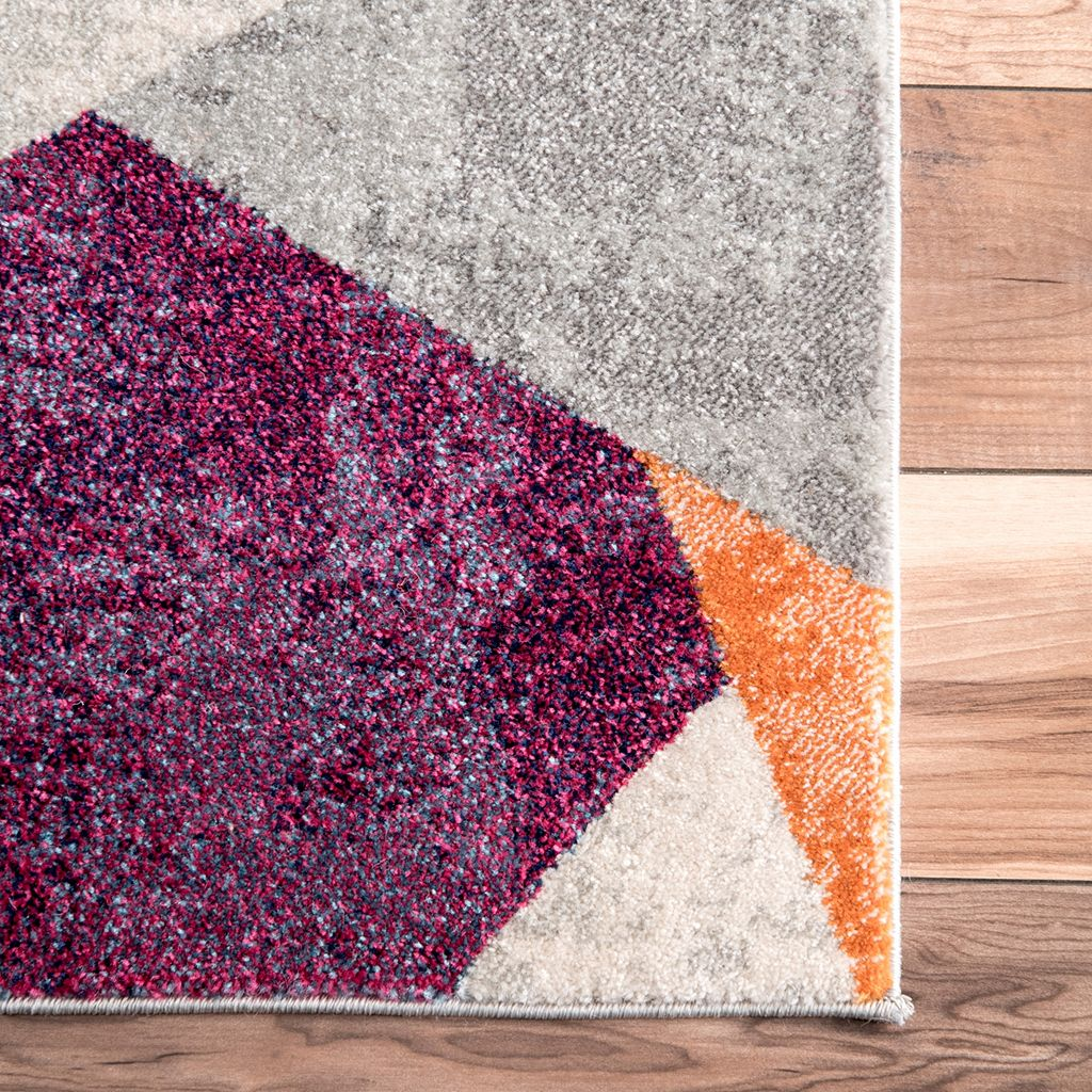 nuLOOM Bodrum Anya Abstract Mosaic Rug