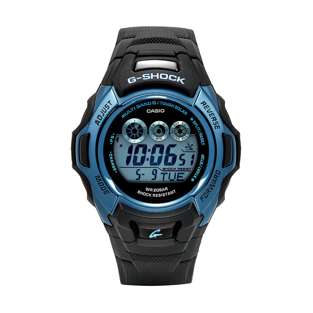 Casio Men's G-Shock Tough Solar Digital Atomic Watch - GWM500F-2CRK