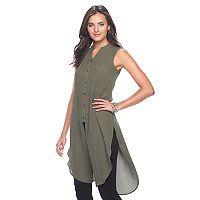 Women's Apt. 9® Sleeveless Tunic Shirt