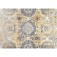 nuLOOM Bodrum Lita Faded Damask Rug