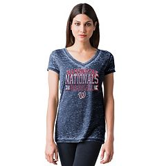 Women's Washington Nationals Burnout Tee