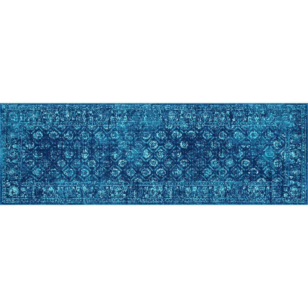 nuLOOM Bodrum Herminia Vintage Framed Trellis Rug