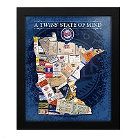 Minnesota Twins State of Mind Framed Wall Art