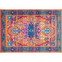 nuLOOM Bodrum Velva Framed Fancy Persian Medallion Rug