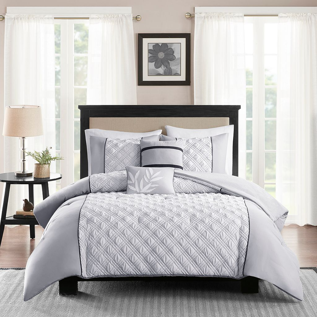 Madison Park 5-piece Michelle Comforter Set