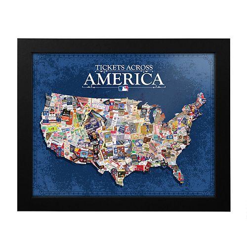 MLB Tickets Across America Framed Wall Art