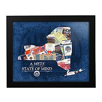 New York Mets State of Mind Framed Wall Art