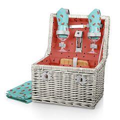 Picnic Time Napa Wine & Cheese Basket