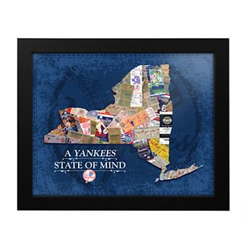 New York Yankees State of Mind Framed Wall Art