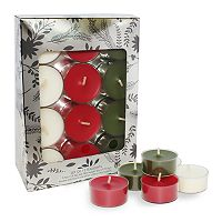 Chesapeake Bay Candle Cinnamon, Balsam & Vanilla 12-piece Tealight Set