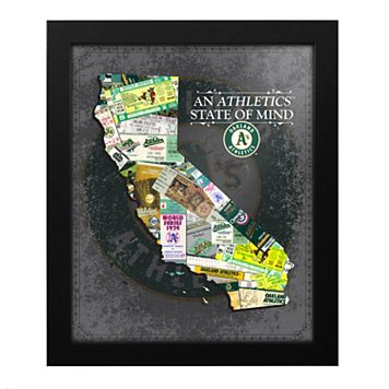 Oakland Athletics State of Mind Framed Wall Art