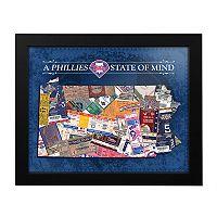 Philadelphia Phillies State of Mind Framed Wall Art