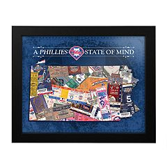 Philadelphia Phillies State of Mind Framed Wall Art