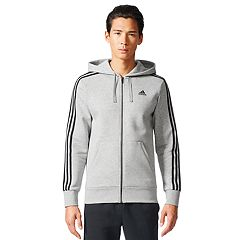 Men's adidas Full-Zip Fleece Hoodie