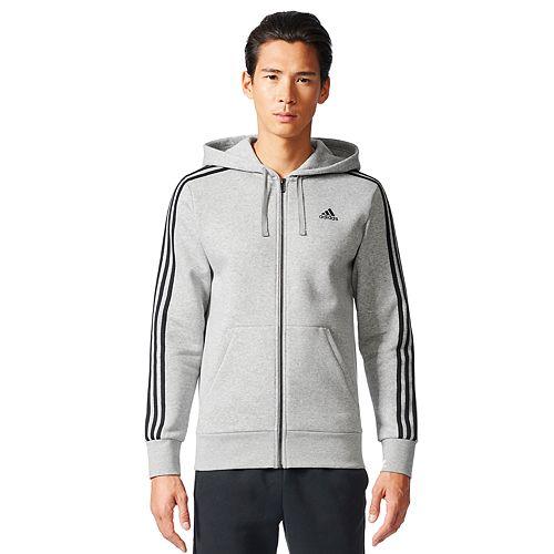 Men's adidas Full-Zip Fleece Hoodie