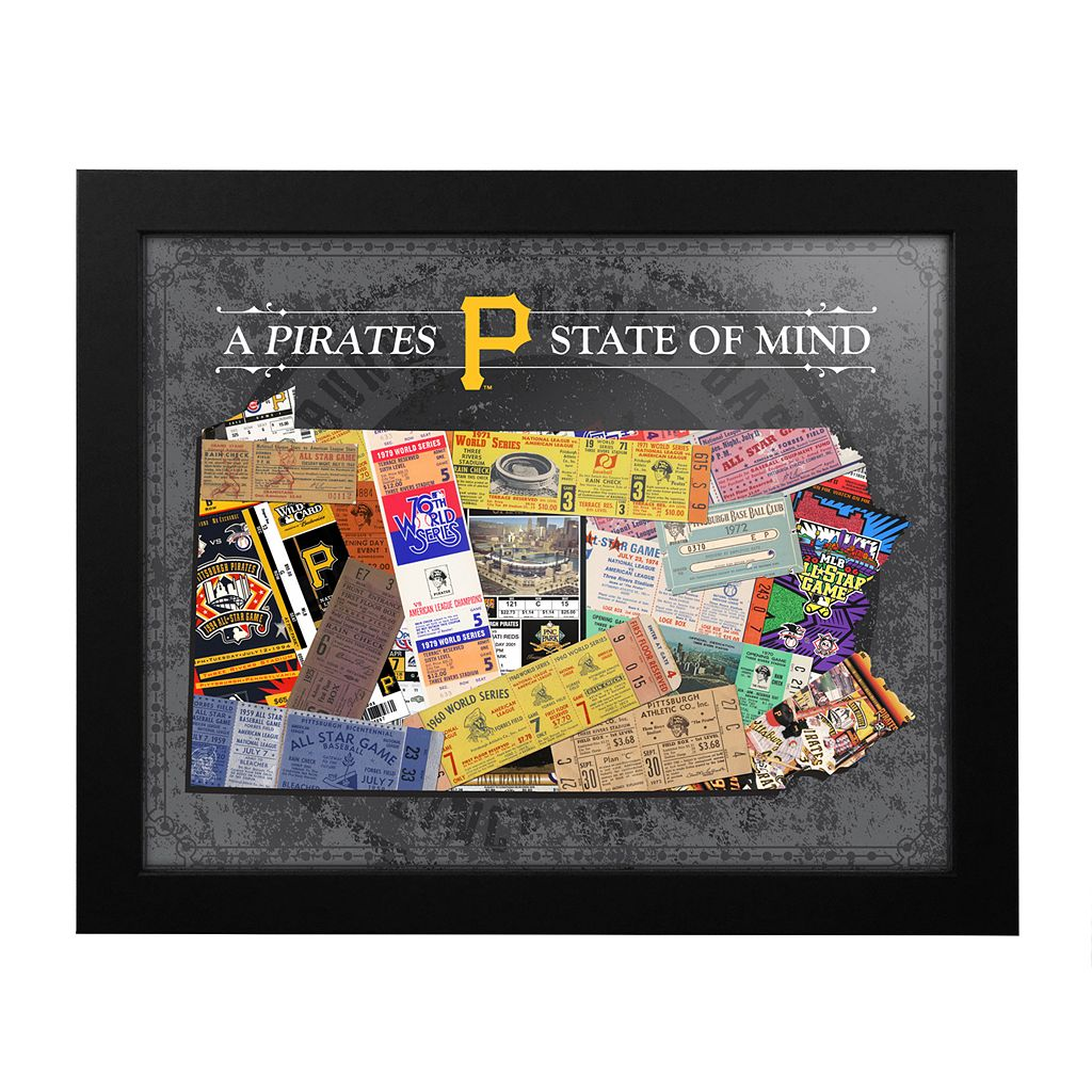 Pittsburgh Pirates State of Mind Framed Wall Art
