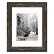 Belle Maison Fashion Gallery Distressed Black Frame