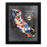 San Francisco Giants State of Mind Framed Wall Art