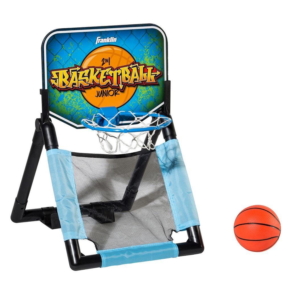 Franklin Sports 2-in-1 Basketball Set