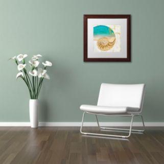 Trademark Fine Art Sea In My Hand Framed Wall Art