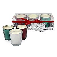 Chesapeake Bay Candle Cinnamon, Balsam & Vanilla Votive Candle 3-piece Set