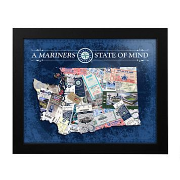 Seattle Mariners State of Mind Framed Wall Art