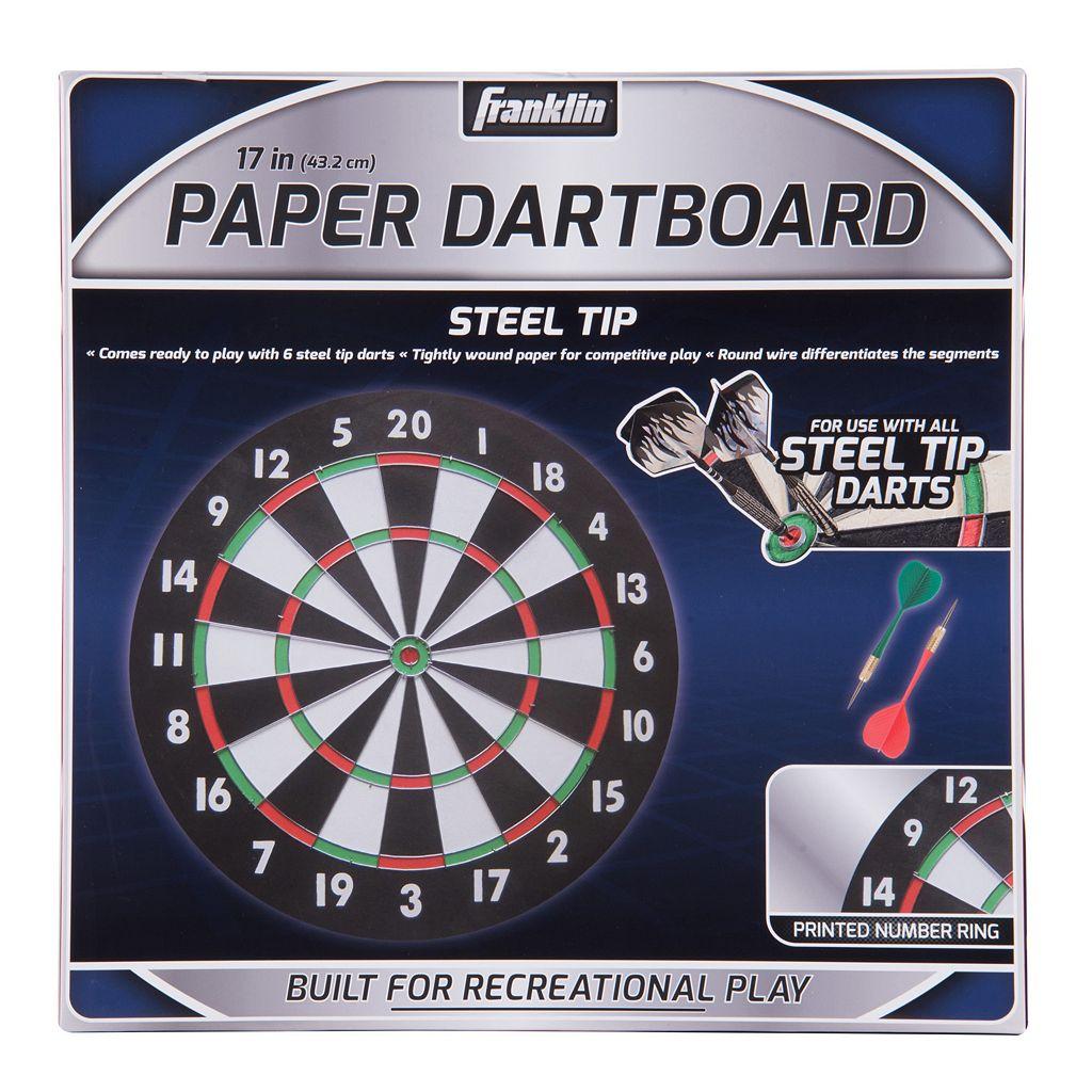 Franklin Sports 17-Inch Paper Dartboard