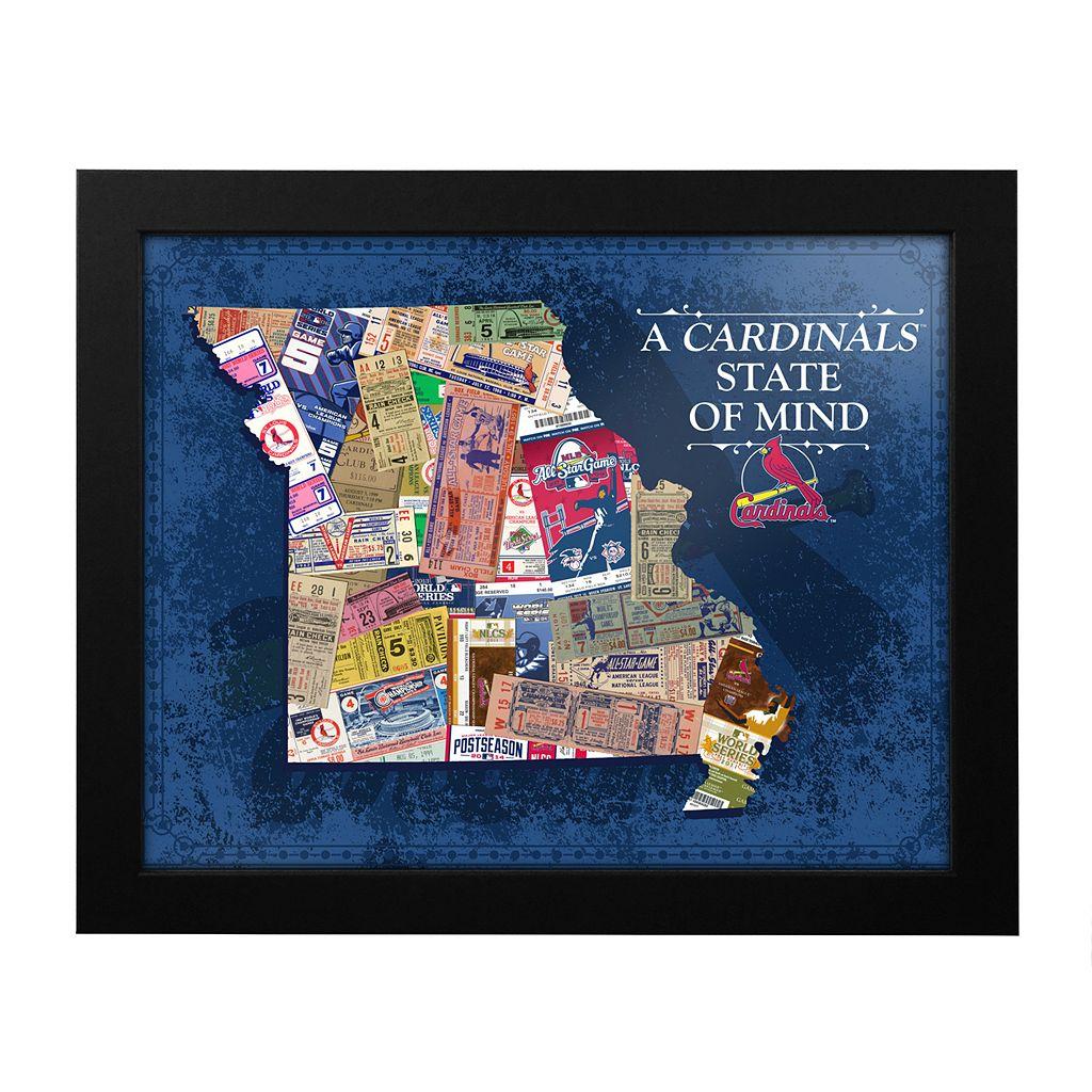 St. Louis Cardinals State of Mind Framed Wall Art