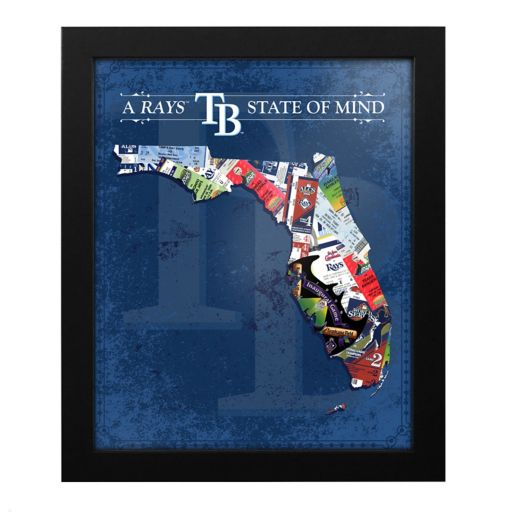 Tampa Bay Rays State of Mind Framed Wall Art