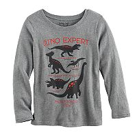 Boys 4-10 Jumping Beans® Long Sleeve Softest Graphic Tee