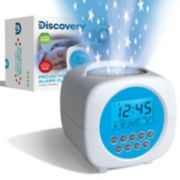 Discovery Star Projection Alarm Clock
