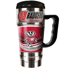 Wisconsin Badgers Champ 20-Oz. Travel Tumbler Mug