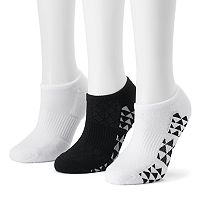 Women's Tek Gear® 3-pk. Triangular Mesh Athletic No-Show Socks