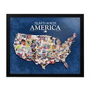 MLB Tickets Across America 30' x 25' Framed Wall Art