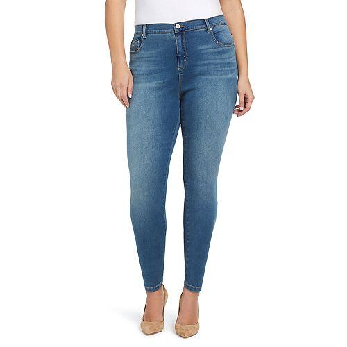 5676addca0e Plus Size Gloria Vanderbilt Amanda High-Rise Skinny Jeans