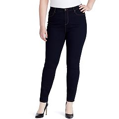 Plus Size Gloria Vanderbilt Amanda High-Rise Skinny Jeans