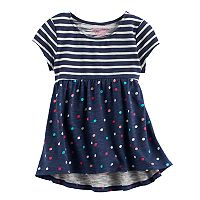 Toddler Girl Jumping Beans® Short Sleeve High-Low Hem Tunic