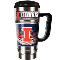 Illinois Fighting Illini Champ 20-Oz. Travel Tumbler Mug