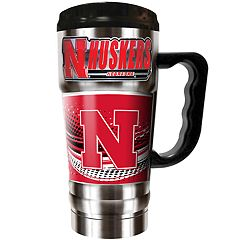 Nebraska Cornhuskers Champ 20-Oz. Travel Tumbler Mug