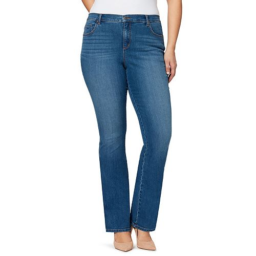 d37fba8e4c8 Plus Size Gloria Vanderbilt Amanda Bootcut Jeans