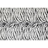 Loloi Danso Zebra Faux Fur Shag Rug