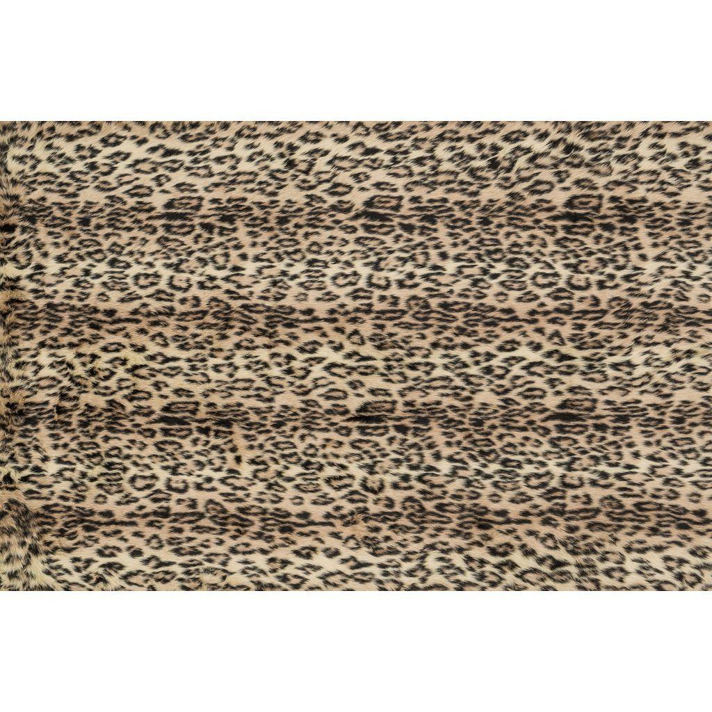 Loloi Danso Cheetah Faux Fur Shag Rug