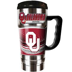 Oklahoma Sooners Champ 20-Oz. Travel Tumbler Mug