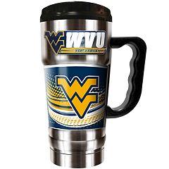 West Virginia Mountaineers Champ 20-Oz. Travel Tumbler Mug