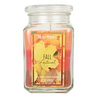 Holiday Memories Fall Festival 17-oz. Tri-Pour Candle Jar