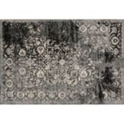 Loloi Emory Distressed Framed Floral Rug