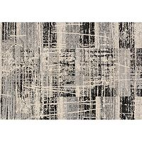 Loloi Emory Distressed Squares Geometric Rug