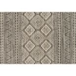 Loloi Emory End Border Geometric Rug