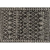 Loloi Emory Bold Patterned Framed Geometric Rug