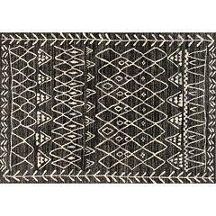 Loloi Emory Bold Patterned Framed Geometric Rug